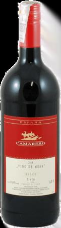 """Camarero"" Vino de Mesa Tinto Dulce 2018"