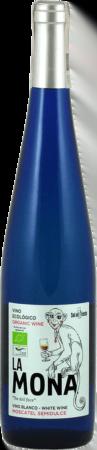 Vino Ecologico Organic Wine La Mona Blanco Moscatel Semidulce