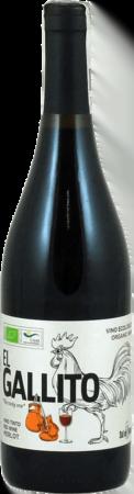"El Gallito Vino Ecológico Organic Wine ""The cocky one"" Tinto Merlot"
