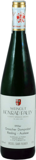 Weingut Konrad Pauly Graacher Domprost Riesling Auslese 1993